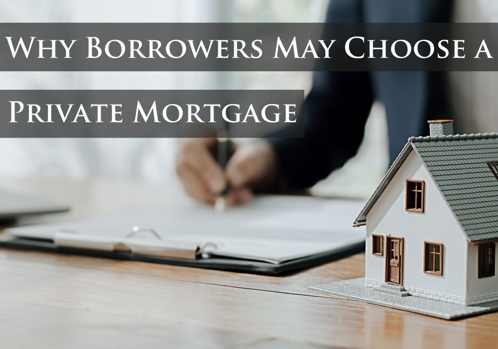 Why Borrowers May Choose a Private Mortgage in Nanaimo, BC